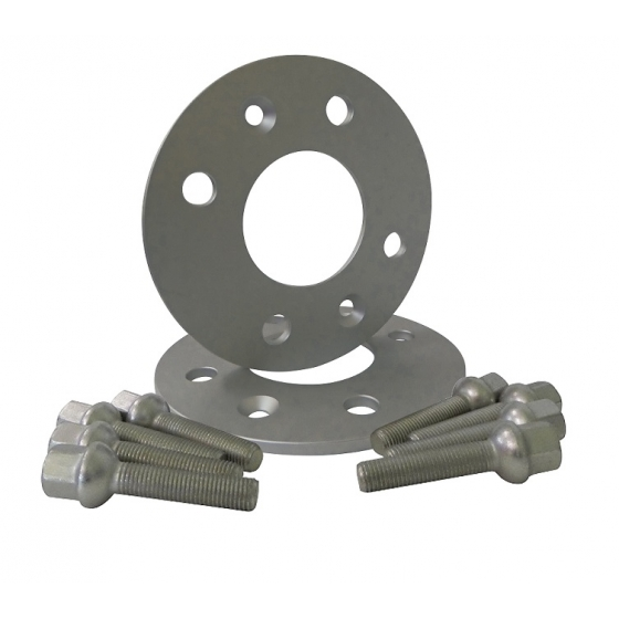 Kit de separadores 5mm 4x100 57,0 SEAT-SKODA-VOLKSWAGEN