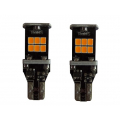 BOMBILLAS T15 SUPER LED AMBAR CANBUS