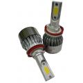 KIT DE LED H8/H9/H11/H16 CON VENTILADOR SUPER ECONOMICO