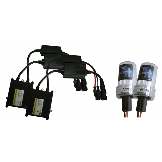 KIT HID H13 6000K 35W 12V CAN BUS 2