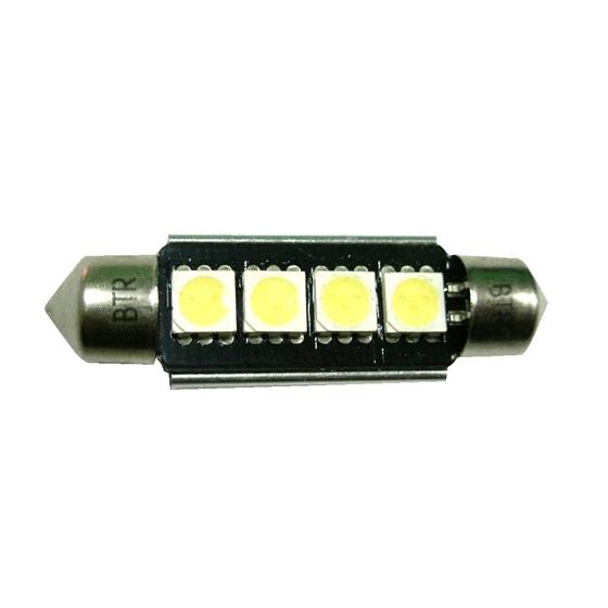 PLAF. 4 SUPER LED BLANCA 44MM. 24V HP CAN-BUS